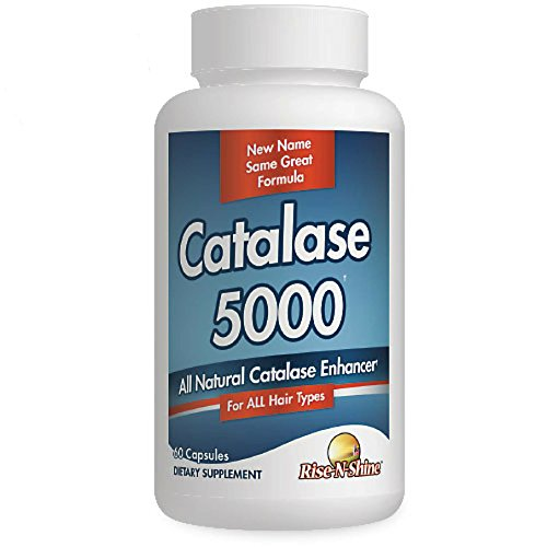 Catalase 5000 - New Name Same Great Formula! Best Selling Hair Supplement with Catalase, Biotin, Vitamin B6, Calcium, Horsetail, Saw Palmetto, PABA, l-tyrosine, Nettle Root, Fo Ti, Barley Grass