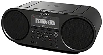 Amazon sony portable bluetooth digital tuner amfm radio cd sony portable bluetooth digital tuner amfm radio cd player mega bass reflex stereo sound sciox Image collections