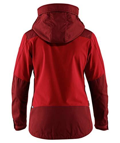 W Fjallraven Jacket Keb Red Mujer Lava Chaqueta Ox nanEHWz6