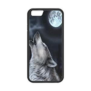 """UNI-BEE PHONE CASE For Apple Iphone 6,4.7"""" screen Cases -Wolf Pattern-CASE-STYLE 5"""