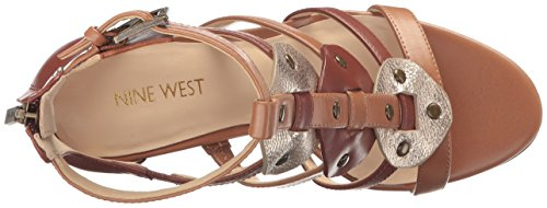 Nwbraddy3 West Saddle Cu Gold New Sandals Nine Water Caramel Women's Multicolour Gladiator Dk qCww0Edx