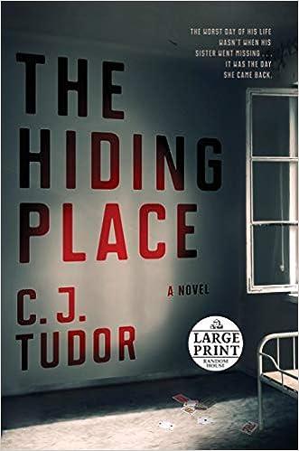 Risultati immagini per c.j.tudor book the hiding place
