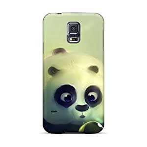 High Quality Phone Cover For Samsung Galaxy S5 With Provide Private Custom Vivid Funny Kung Fu Panda Pattern CharlesPoirier