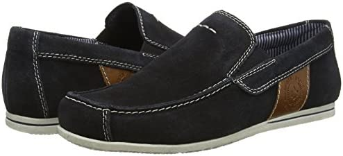 Rieker Herren 09762 14 Mokassin, Navy: : Schuhe