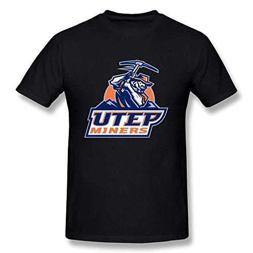 LLangla Men's UTEP Miners T Shirt L