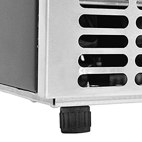 Costzon Built-In Stainless Steel Commercial Ice Maker Portable Ice Machine Restaurant (Silver)