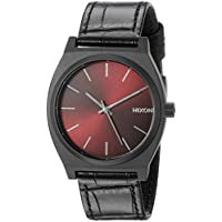 Nixon Men's A0451886 Time Teller Analog Display Japanese Quartz Black Watch