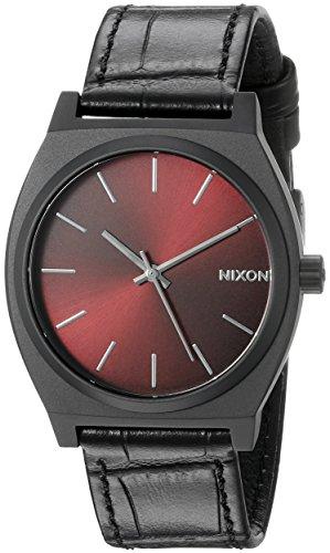 Nixon-Mens-A0451886-Time-Teller-Analog-Display-Japanese-Quartz-Black-Watch