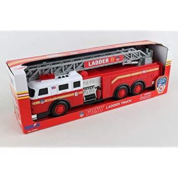 Daron FDNY Ladder Truck with Lights and Sound