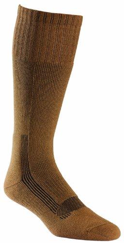 Fox River Military Wick Dry Maximum Mid Calf Boot Sock (XLarge/Coyote Brown) (Fox Wool Socks River)