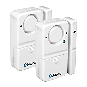 Swann Window/Door Magnetic Alarms - 2 Pack (SW351-MD2)