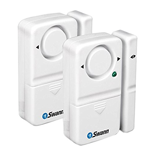 Swann Window/Door Magnetic Alarms - 2 Pack (SW351-MD2)