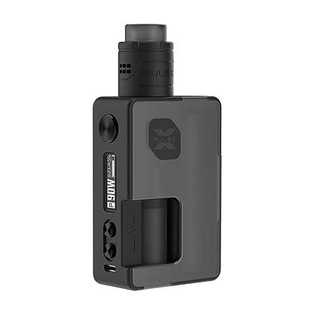 VandyVape Pulse X Squonk Kit Special Edition,90W Box Mod Cigarrillo Electrónico Pulse V2 RDA Botella 8ml Squonk Adaptador de Batería 18650 - Sin ...