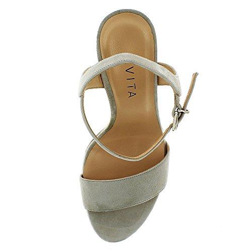 Donna Valeria Shoes Grigio Sandali Evita qHtUZvnw