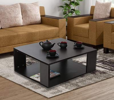 Comfybean Paola Engineered Wood Coffee Table Modern Design Elegant Finish Color Dark Wenge Amazon In Home Kitchen