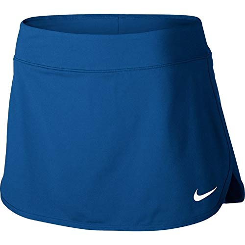 Nike Court Pure Women's Tennis Skirt (X-Small, Blue Jay/White) by Nike (Image #1)