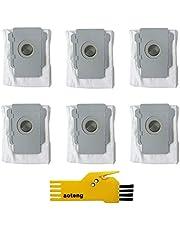 aotengou 6-pack ren bas automatisk smutsavfallspåsar för iRobot Roomba i7 i7+/Plus s9+/Plus E5 E6 E7 dammsugare tillbehörssats