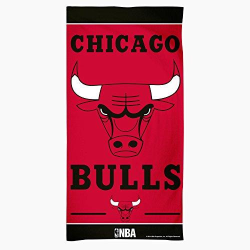 NBA Chicago Bulls Fiber Beach Towel, 30 x 60-Inch by WinCraft