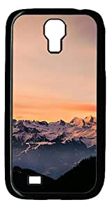 FSK Samsung Galaxy S4 Case,Golden Hour Sunset Polycarbonate PC Plastic Hard Case Cover for Samsung Galaxy S4 Black