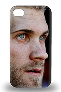 Awesome Case Cover Compatible With iphone 5c MLB Washington Nationals Bryce Harper #34