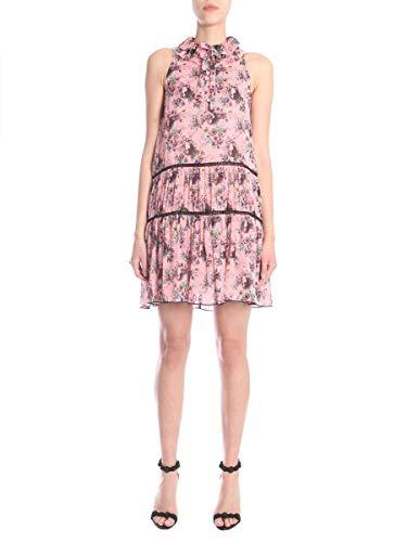 Femme 041511511224 Soie Boutique Rose Robe Moschino zw0nBZ
