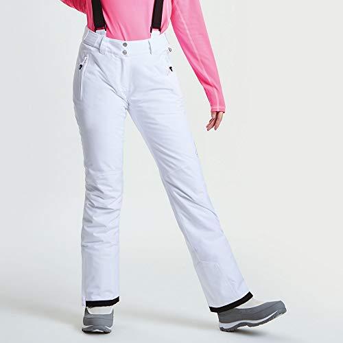 Dare 2b Women's Figure II Pants (White, 6) from Dare 2b
