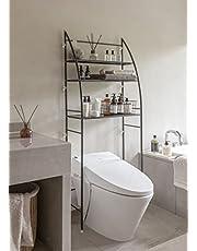 "Fit Right 3-Shelf Bathroom Organizer Over-The-Toilet Storage, Over Toilet Shelf, Over-Toilet Storage 27""L x 10""W x 66""H"