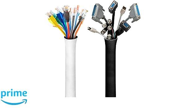 VViViD Reversible Neoprene Hook n Loop 4 x 11ft Cable Management Sleeve Roll