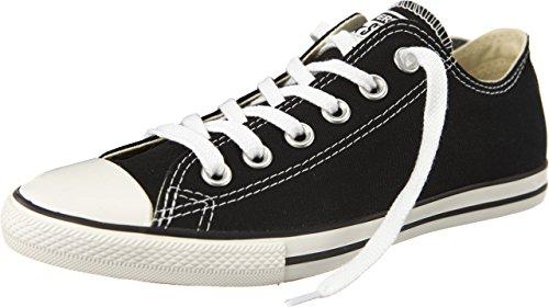 Converse - Zapatillas de lona para hombre negro negro