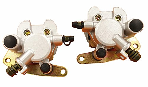 New Front Brake Caliper Set For Yamaha Kodiak 400 1999-2006 Kodiak 450 2003-2006 LEFT&RIGHT