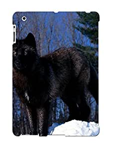 Hot Animal Wolf First Grade Tpu Phone Case For Ipad 2/3/4 Case Cover