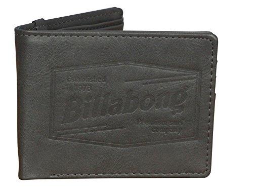 - Billabong BiFold Wallet ~ Junction charcoal