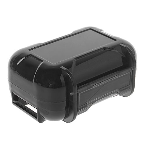 - Youngy KZ ABS Resin Hard Storage Box Protective Case for Earphone in-Ear Monitor Eartip - Black