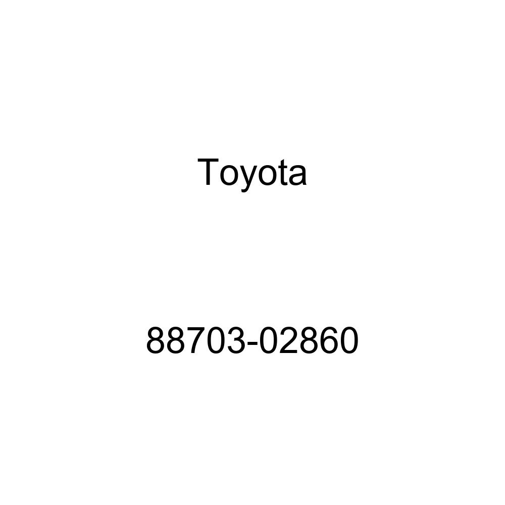 Toyota 88703-02860 Discharge Hose Sub-Assembly