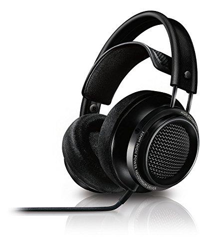 Philips-Fidelio-X200-Casque-dintrieur-Hi-Res-haut-de-gamme-avec-coussinets--mmoire-de-forme-Noir
