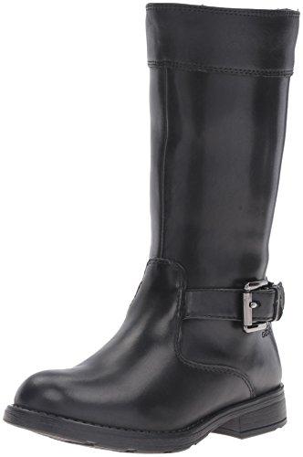 Geox Girls' Jr Sofia B Abx 10-K Riding Boot, Black, 31 EU(13 M US Little Kid) (Girls Toddler Riding Boots)
