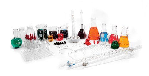 American Educational 7-2000-37 95-Piece Advanced Glassware Kit