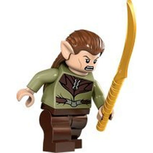 Lego Hobbit Mirkwood Elf Guard Minifigure