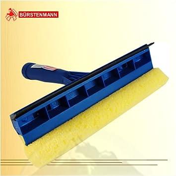 Bürstenmann ventana limpiaparabrisas de esponja con mango de plástico, color azul: Amazon.es: Salud y cuidado personal