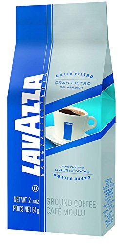 Lavazza Gran Filtro Ground Coffee Blend, Medium Roast, 2.25-Ounce Bags (Pack of 30) For Sale