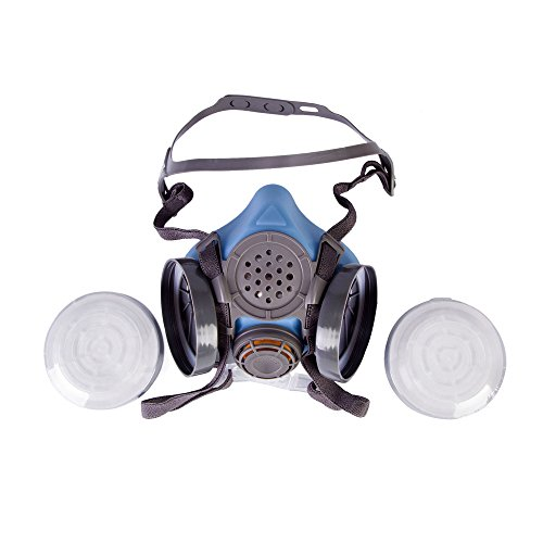Joyutoy 3600 Series Half Facepiece Reusable Respirator Industrial Gas Chemical Anti-Dust Paint and Pesticide Respirator Mask with Adjustable Straps by Joyutoy (Image #3)
