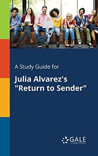 A Study Guide for Julia Alvarez's
