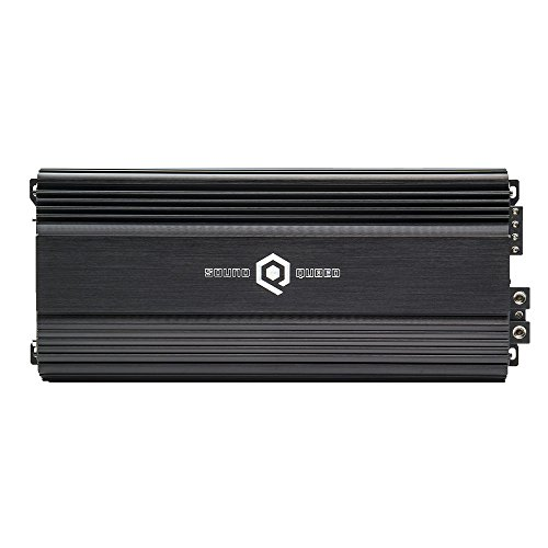 SoundQubed S1-2250 2300W RMS Single-Channel (Monoblock) Class D Car Audio Amplifier with Remote Gain Control (Big 3