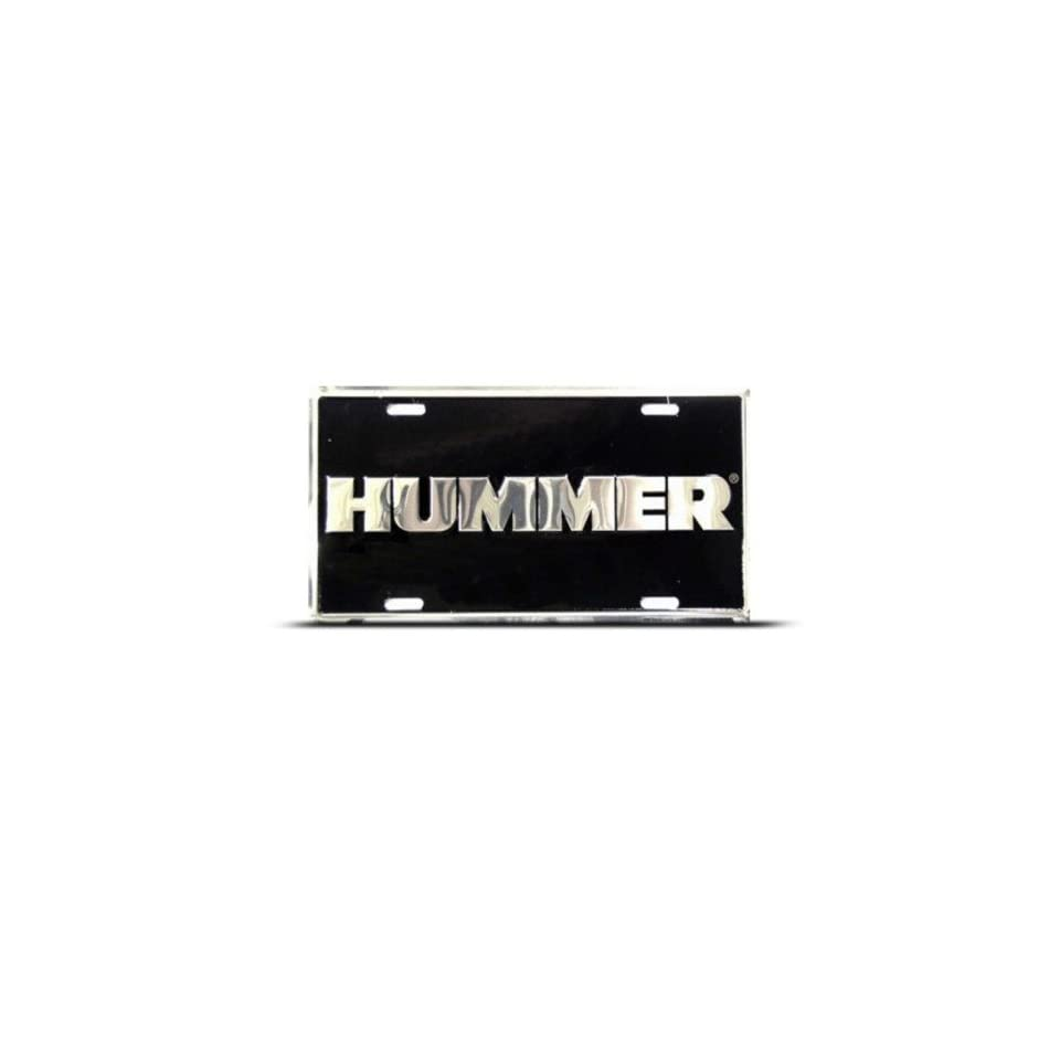Hummer H2 H3 Metal Novelty Car Auto License Plate Wall Sign Tag
