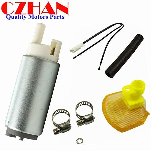 (TP-836 UC-T30 fuel pump W/install kit Harness strainer filter For Hayabusa GSXR1300 GSXR 1300 1300R Suzuki 1999-2012 GSX-R1000 1000 GSX-R1000Z GSXR600)