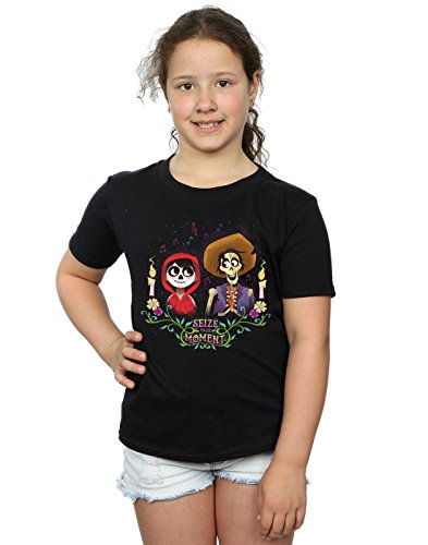 Disney Girls Coco Miguel and Hector T-Shirt 12-13 Years Black