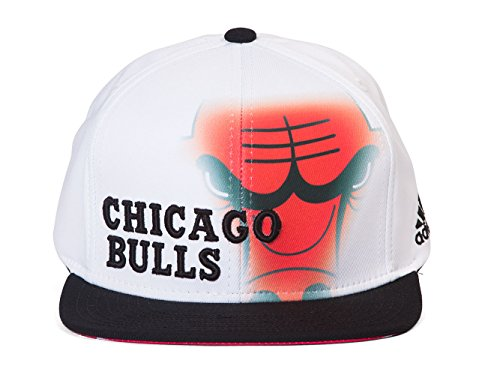 Chicago Bulls Adidas NBA 2014 Authentic On-Court Strap Back Hat