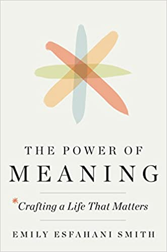 The Power Of Meaning Crafting A Life That Matters Emily Esfahani