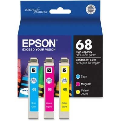 Epson No. 68 Tri Color Ink Cartridge (T068520) -