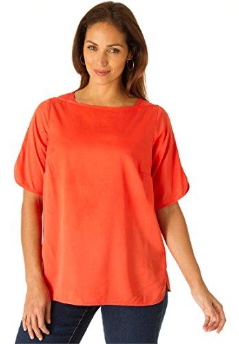 Jessica-London-Womens-Plus-Size-Short-Sleeve-Blouse